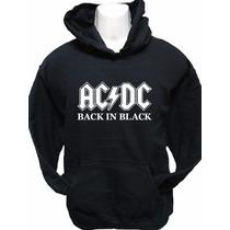 Polerón Ac/dc. Back In Black.