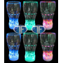 Pack 6 Vasos Luminosos Grandes Led