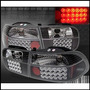 Focos Altezza Blk Con Led Honda Civic 92-95