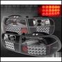 Focos Altezza Blk Con Led Honda Civic 92-95