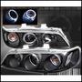 Opticos Blk Con Angel Eyes Honda Accord 94-97