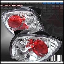 Focos Cromados Altezza Hyundai Tiburon