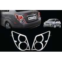 Biseles Cromados Chevrolet Sonic Sedan