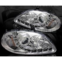 Opticos Con Led Honda Civic 96-98