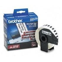 Cinta Brother Dk-2210 Para Ptouch Tipo Ql-700 Ql-570 Ql-550