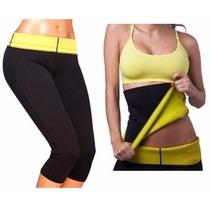 Pack Faja + Calza Hot Pants Neotex Thermo Shaper 5tallascaja