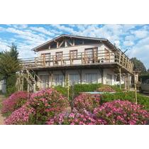 Arriendo Casa Frente A Pichidangui Con Linda Vista Al Mar