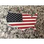 Emblema Bandera Eeuu Con Adhesivo Con Envío Gratis