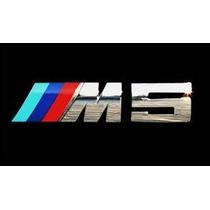 Bmw M5 Logo Maletero Serie 5 E34 E39 E60 E61 F10 525 530 535