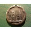 Medalla Cuerpo De Bomberos Santiago 1903 Plata