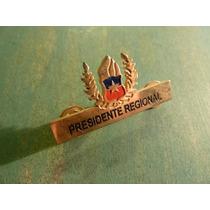 Insignia Presidente Regional Bomberos
