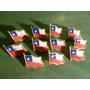 Insignia Bandera De Chile ¡ Unidad !