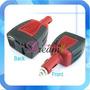 Inversor Voltaje Adaptador Auto Corriente 12v 220v 100w Usb