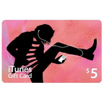 Itunes Gift Card Usd 5