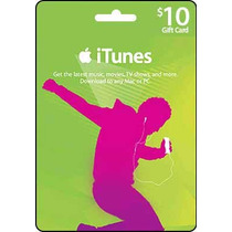 Itunes Gift Card Usd 10