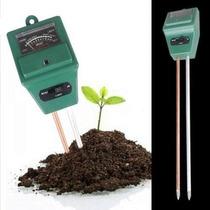 Medidor De Ph Humedad Y Luz Para Plantas 3 En 1