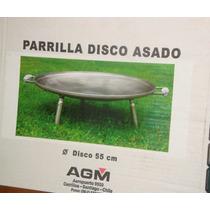 Parrilla Disco Asado Agm 55 Cms De Diámetro