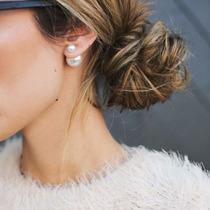 Aros Perla Fashion !!! Hermosos, Moda, Belleza Verano