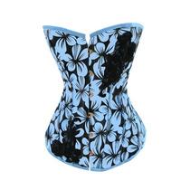 Corset Orquidea Azul Talla Xl