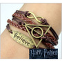 Pulsera Harry Potter Reliquias De La Muerte Believe