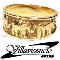 Anillo De Oro 18k 4.5 Gr Elefantes