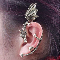 Ear Cuff Diseño Dragon