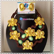 Maxi Collar Soutache