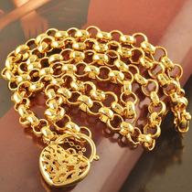 Collar Enchapado Oro O Gold Filled,joya Con Envío Gratis