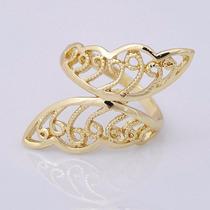 Anillo Oro Laminado 10 Quilates Modelo Mariposas