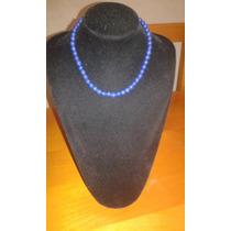 Collar De Lapilazuli De Piedras Naturales (afgano)