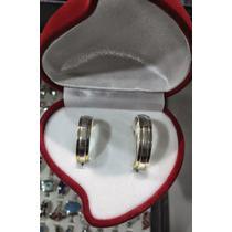 Par Argollas Matrimonio Plata Oro Cód. Arp012 Oferta