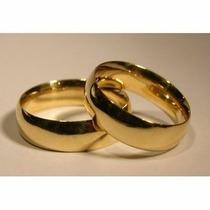 Argollas-compromiso- Matrimonios --bodas-acero -enchape 18 K