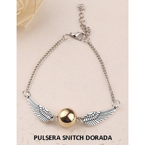 Pulsera Snitch Dorada Harry Potter