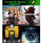 Pack 4x1 Juegos Ps3 Digital ¡¡¡oferta!!!
