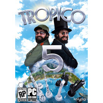 Tropico 5 Pc Steam Gift Card Original