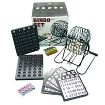 Set Bingo, Tómbola + Cartones + Ficha + Bolas / Fernapet