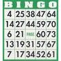 200 Cartones Para Bingo