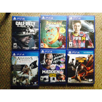 Cambio Call Of Duty Rayman Fifa Assasins Madden Y Infamous