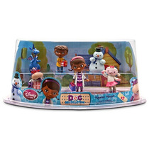 Set De Figuritas Doctora Juguetes - Disney Original 6 Piezas