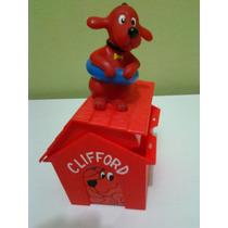 Figura Y Casa Del Perro Clifford