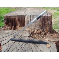 Baston Con Katana,cuchillo Espada Oculto En Baston De Acero