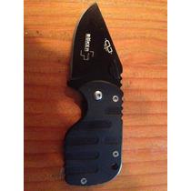 Cuchillo Boker Subcom Aus 8 Mini Black Cortaplumas De Cuello