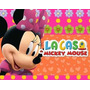 Kit Imprimible Minnie Rosa De La Casa De Mickey Mouse + Cump
