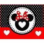 2 X 1 - Kit Imprimible Minnie Roja