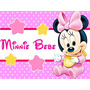 Kit Imprimible Minnie Bebe Disney Candy Bar Tarjetas Y Mas