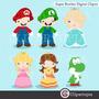 Kit Imprimible Mario Bross Imagenes Clipart