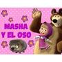 2 X 1 - Kit Imprimible Masha Y El Oso