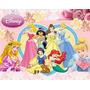 Kit Imprimible Princesas Disney Diseña Tarjetas, Cumples Y +