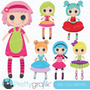 Kit Imprimible Lalaloopsy Imagenes Clipart