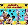 Kit Imprimible Mickey Y Sus Amigos Diseñá Tarjetas Cumple #2